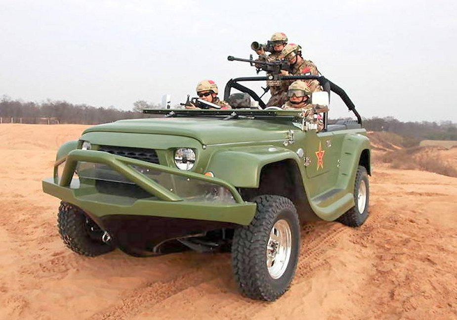New fast amphibious 4x4 vehicle to equip Chinese special forces