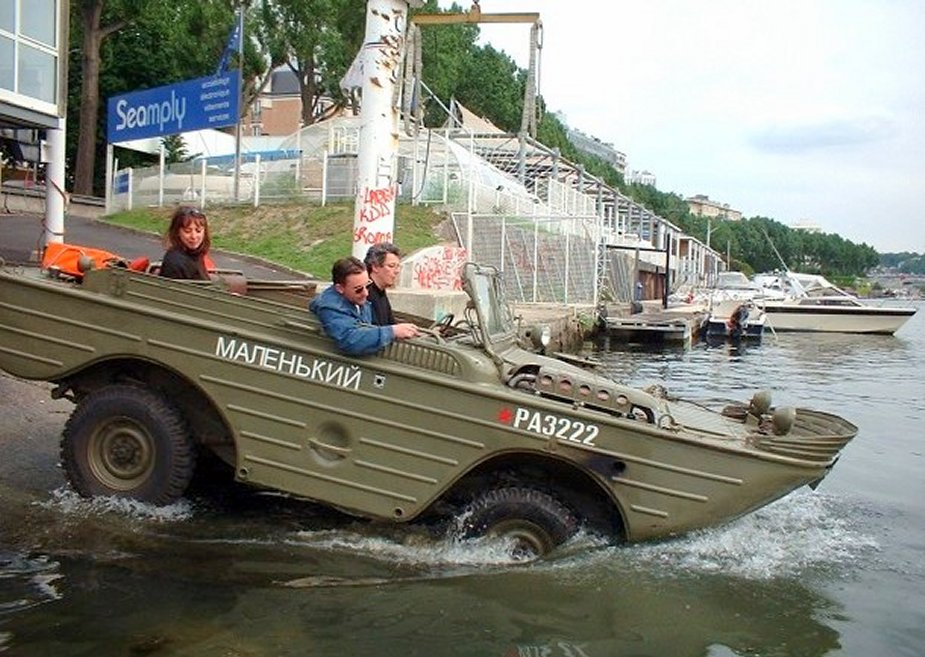 New fast amphibious 4x4 vehicle to equip Chinese special forces 4