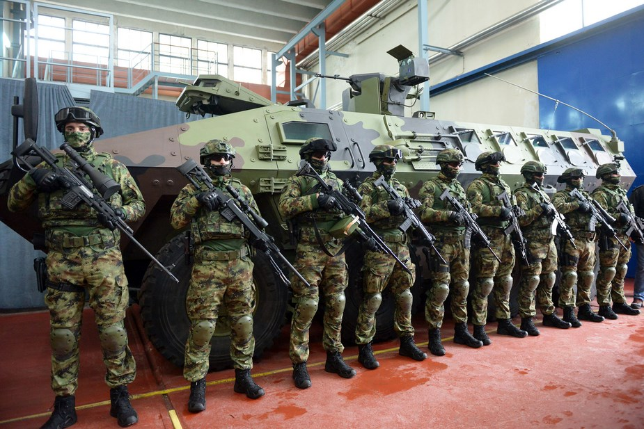 New weapons and military equipment delivered to Serbian Armed Forces in 2018 0