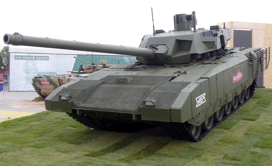 Russia First serial T 14 Armata main battle tanks to be supplied in 2019
