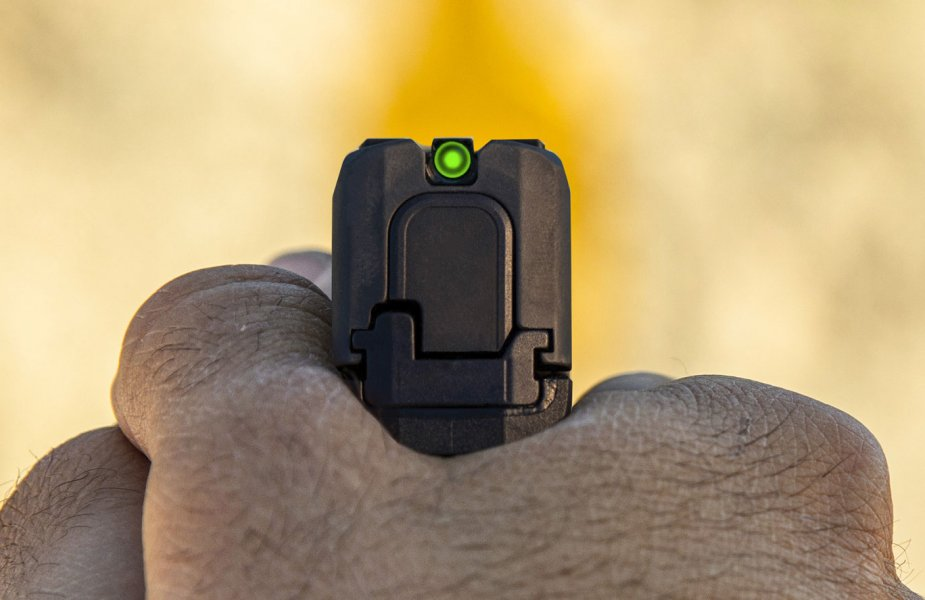 Sig Sauer P365 SAS pistol gets new Bulleye sight system 1