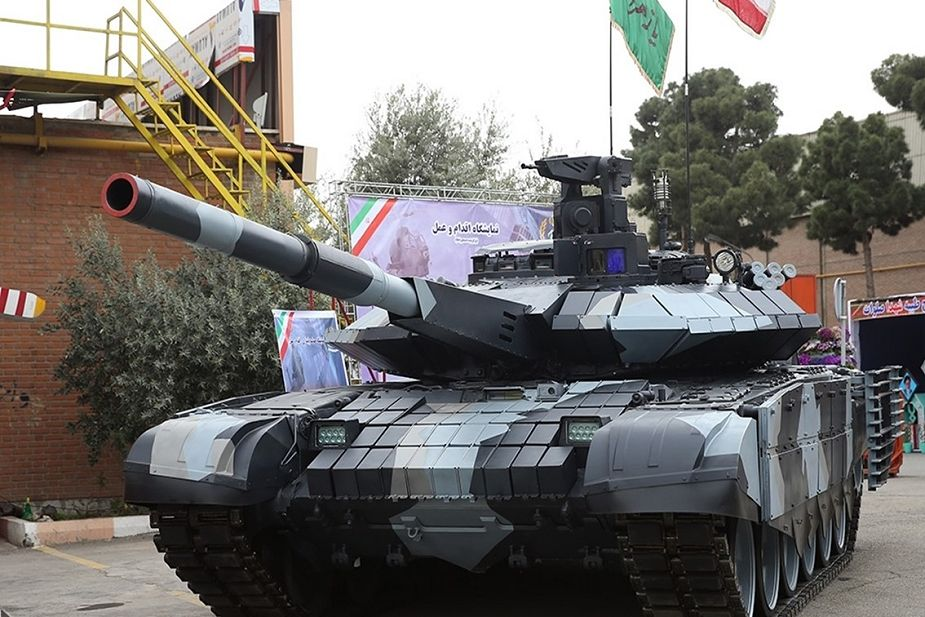 Top 15 most modern main battle tanks MBTs in the world Karrar Iran 925 001