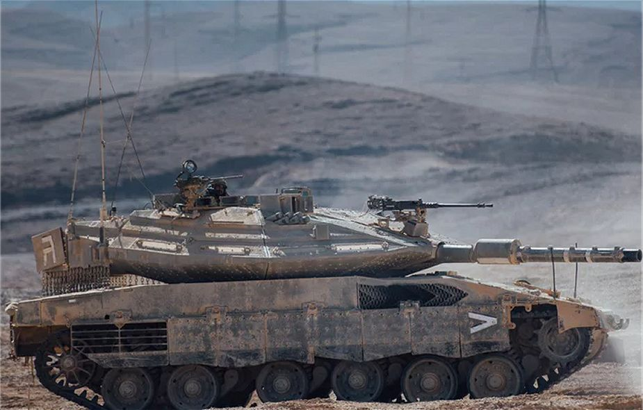 Top 15 most modern main battle tanks MBTs in the world Merkava IV Barak 925 001