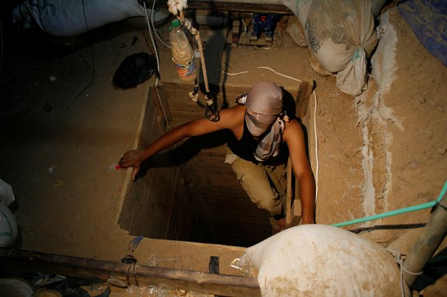 Hamas has seized control of all the smuggling tunnels under the Philadelphi Corridor in southern Gaza and has been moving additional arms into the Strip since Operation Cast Lead .