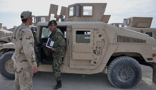 A historic mission for the 401st Army Field Support Brigade of U.S. Army came to an end, Nov. 12, when AFSBn-Bagram issued 49 M1114 vehicles to the Afghan National Army, under a Foreign Military Sales case. The 49 vehicles were the last of more than 950 vehicles that were involved in the program that lasted about two and one-half years.