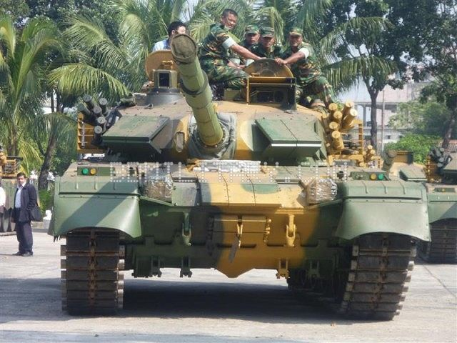 "Bangladesh Army has started introduction of the fourth-generation China-made MTB-2000 tanks procured through outright purchase, Prime Minister Sheikh Hasina said Thursday. ""This is the first time our army is getting such new and ultramodern tanks, all bought with our own funds,"" she announced during an induction ceremony of the Army Aviation Group area at Tejgaon. Eight of these tanks could be seen at the ceremony."