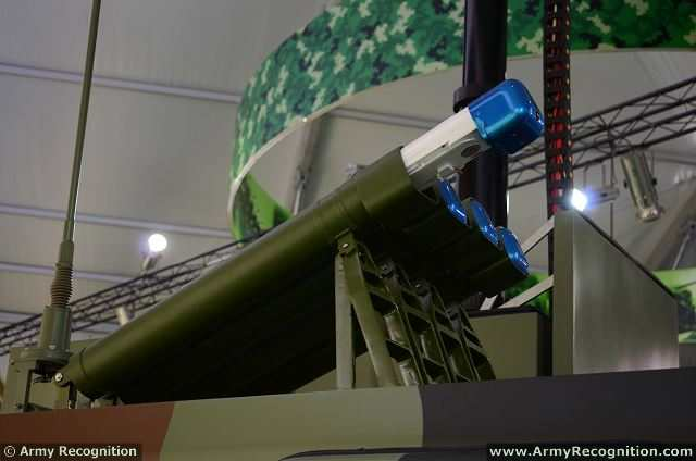 At the China International Aviation & Aerospace Exhibition 2014 (AirShow China), Chinese Defense Company Poly Technology presents a new high accuracy artillery electro-optical reconnaissance and command system vehicle, named PL02.