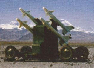 PL-9C SHORAD Short range ground-to-air missile technical data sheet specifications pictures information description intelligence photos images video identification air defense system China army industry military technology Norinco
