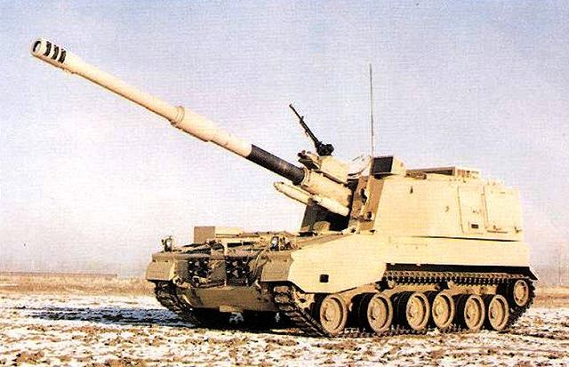 PLZ45 155mm 45 Caliber sel-propelled howitzer