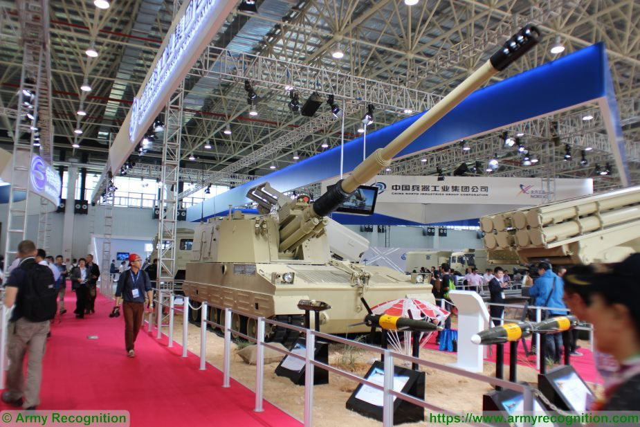 PLZ52 PLZ-52 155mm 52 Caliber self-propelled howitzer data | China