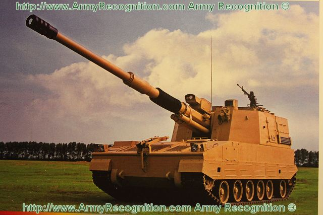 PLZ52 155mm calibre 52 obús autopropulsado