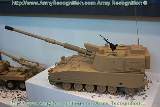 PLZ52 155mm 52 Caliber self-propelled howitzer technical data sheet specifications pictures information description intelligence photos images video identification tracked armoured vehicle China Chinese army defense industry military technology Norinco