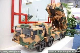 WS-3 400mm Guided MLRS MGLRS Multiple Launch Rocket System data sheet specifications pictures information description intelligence photos images video identification tracked armoured vehicle China army defense industry military technology Poly Technologies