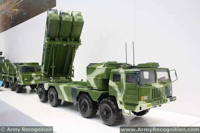 WS-3 400mm Guided MLRS MGLRS Multiple Launch Rocket System