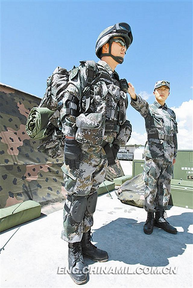 New individual field personal combat equipment for Chinese army ...