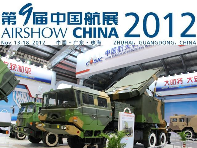 AirShow China 2012 pictures photos video International Aviation Aerospace Defence Exhibition Chinese military industry technology Zhuhai