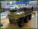 At the 10th International (Zhuhai) Aviation & Aerospace Exhibition in China, the Chinese Defense Company introduces a full range of new UGVs (Unmanned Ground Vehicle) as the Crew Task Support Unmanned Mobile Platform which seems very similar to the SMSS designed and developed by the American Company Lockheed Martin.