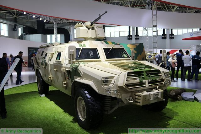 CS-VN11 4x4 armoured personnel carrier China Chinese defense industry Zhuhai AirShow China 640 001