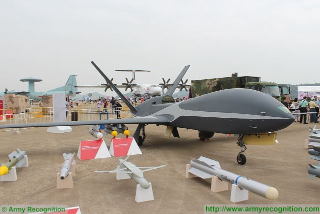 Cloud Shadow combat drone UAV China Chinese defense industry Zhuhai AirShow China 640 001