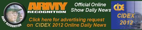 Your advertising on Army Recognition online daily news CIDEX 2012, for request Click here