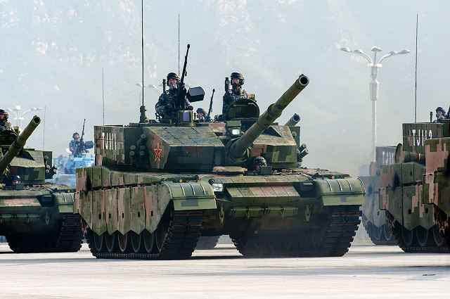 ZTZ-99A Type 99A MBT China Chinese army parade military equipment combat vehicles 3 september 2015 001