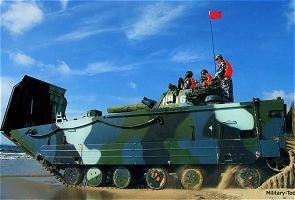 ZBD-05 ZBD05 ZBD2000 amphibious armoured infantry fighting vehicle technical data sheet specifications information description intelligence pictures photos images China Chinese army identification combat military