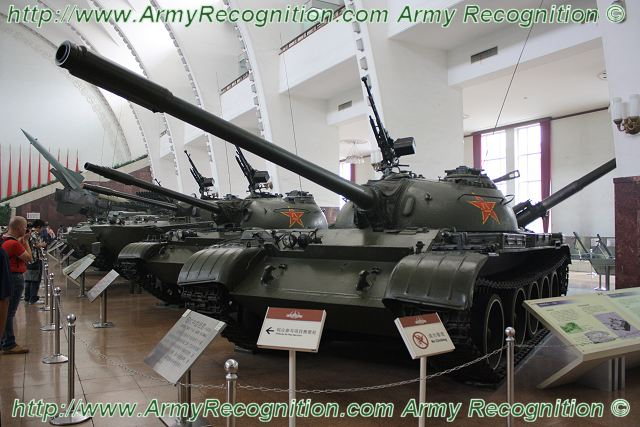 Type 59 WZ120 main battle tank MBT technical data sheet specifications information description intelligence pictures photos images China Chinese identification defense industry military technology