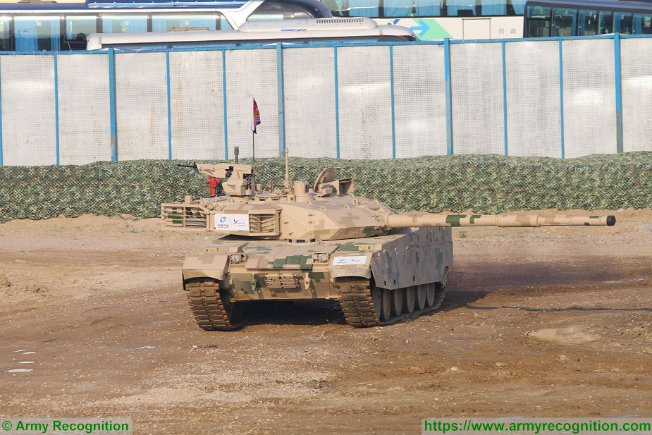 VT4 MBT 3000 MBT Main Battle Tank Norinco China Chinese army defense industry 925 001