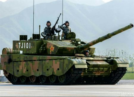 Type 99A A2 ZTZ 99A main battle tank China Chinese army defense industry right side view 002