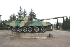 ZTZ96 Type 96 main battle tank technical data sheet information description intelligence pictures photos images China Chinese army identification heavy tracked armoured vehicle