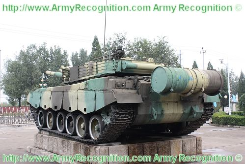 Ztz96 Type 96 Mbt Main Battle Tank Technical Data Pictures