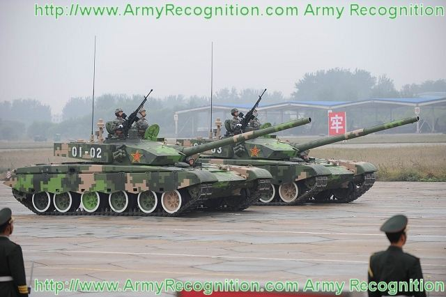 Modern Chinese Tanks - Tanks and Armored Vehicles - World ...