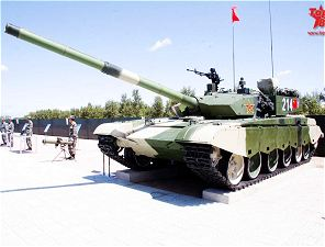 ZTZ99 Type 99 WZ123 main battle tank technical data sheet information description intelligence pictures photos images China Chinese army identification heavy tracked armoured vehicle