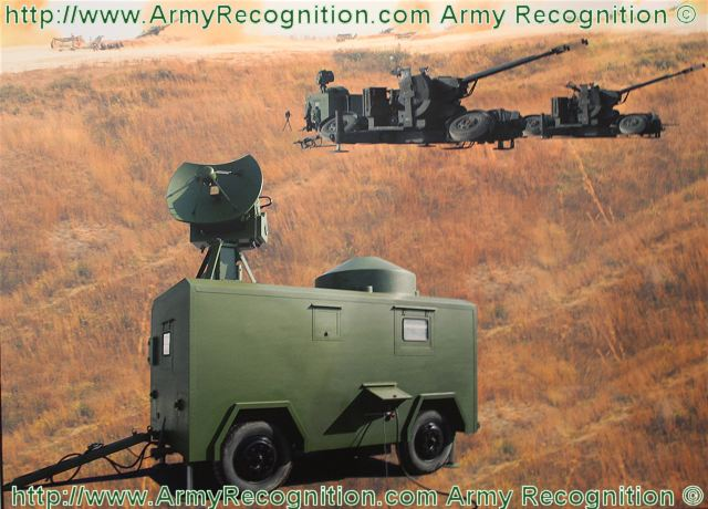 The 825 Artillery Fire Control System is Chinese-made radar especially designed to be used with anti-aircraft 57/35mm artillery weapon systems. The 825 artillery fire control system features photoelectric combination and two systems in one radar & fire control computer.
