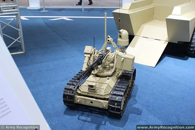 The new SHARP CLAW 1 UGV (Unmanned Ground Vehicle) developed and designed by the Chinese Defense Company NORINCO (China North Industries Corporation) makes its debut at the 11th International (Zhuhai) Aviation & Aerospace Exhibition. The Sharp Claw 1 can be used by infantry units to perform reconnaissance missions and hit enemy targets.
