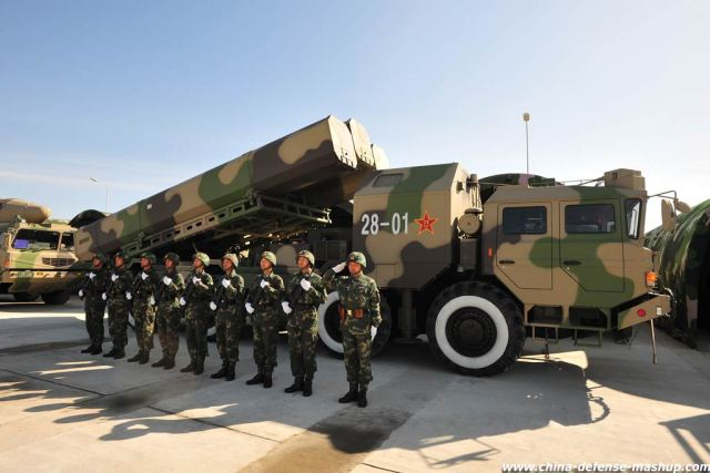 DF-10 surface-to-surface cruise missile China Chniese army PLA defense industry military equipment 640 002