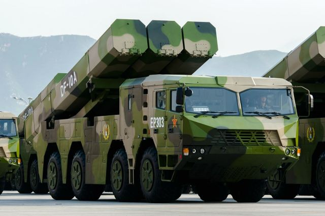 DF-10A surface to surface cruise missile China Chniese army PLA defense industry military equipment 640 001
