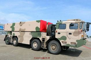 DF-12 M20 short-range surface-to-surface tactical missile China Chinese army defense industry military technology right side view 001