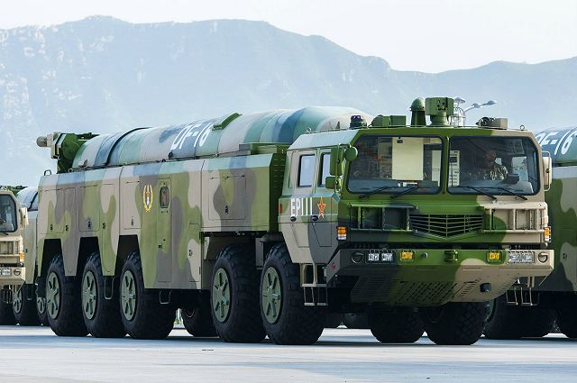 DF 16 short medium range ballistic missile China Chinese army defense industry military technology 640 001