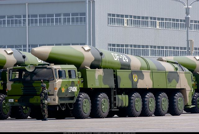 Image result for DF-26 ballistic missiles, china, photos