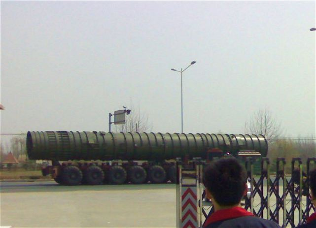 DF-41 Dongfeng-41 CSS-X-10 intercontinental ballistic missile ICBM technical data sheet specifications pictures information description intelligence photos images video identification China Chinese army defense industry military technology