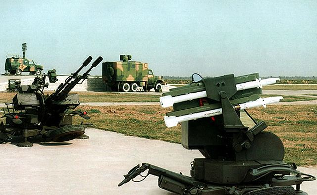 TY-90 DY-90 SHORAD Short range ground-to-air missile technical data sheet specifications pictures information description intelligence photos images video identification air defense system China army industry military technology Norinco