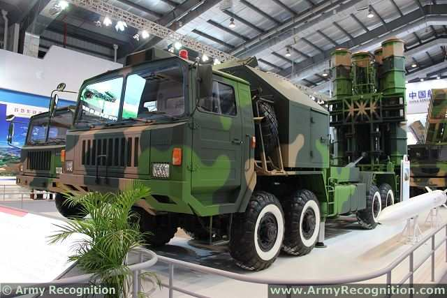 FD-2000 long range air defense missile system technical data sheet specifications pictures information description intelligence photos images video identification tracked armoured vehicle China army defense industry military technology CPMIEC