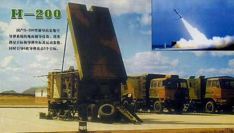 H 200 HQ 12 KS 1A Mobile Engagement Radar China Chinese army defense industry 925 001