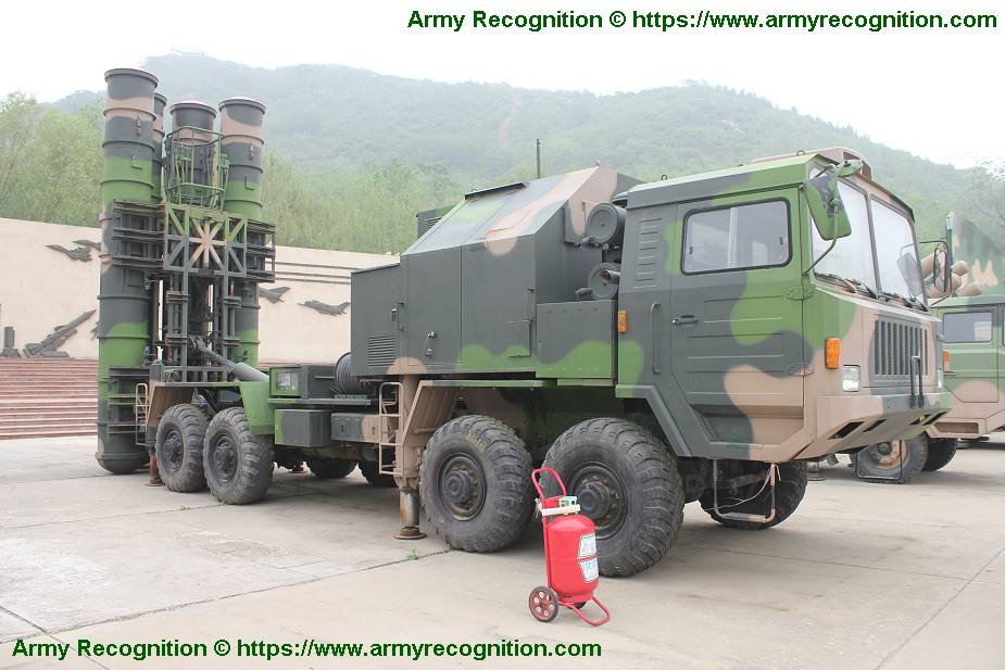HQ 9 medium to long range air defense missile system China Chinese army 925 001