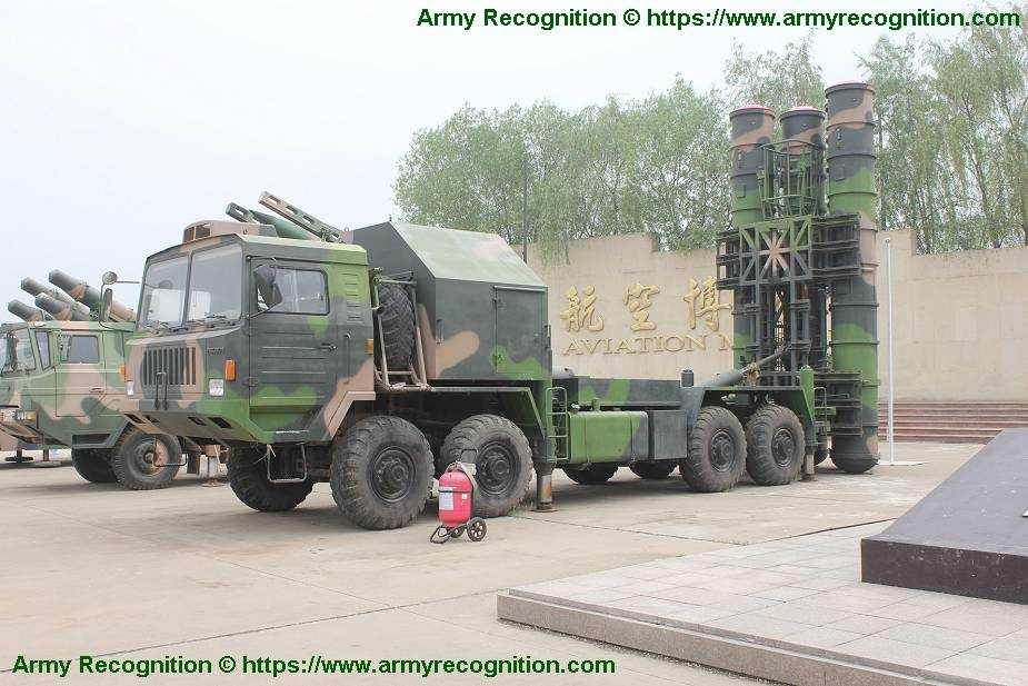 HQ 9 medium to long range air defense missile system China Chinese army details 001