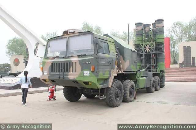 HQ-9 TEL Truck Erector Launcher