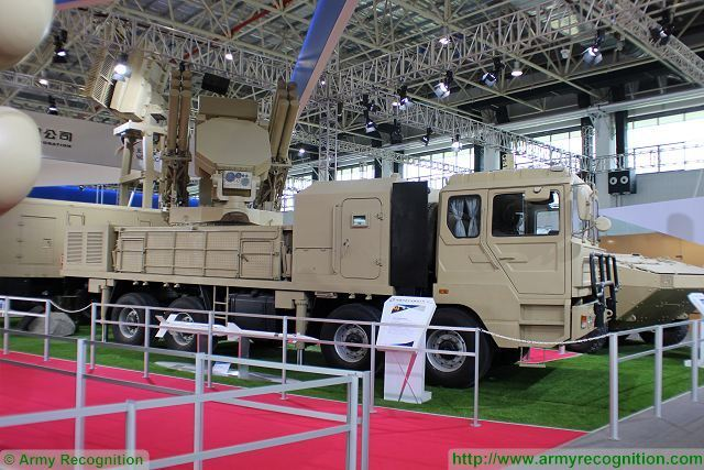 Sky Dragon 12 GAS5 short-range air defense missile system technical data sheet specifications pictures information description intelligence photos images video identification Norinco China Chinese army industry military technology equipment