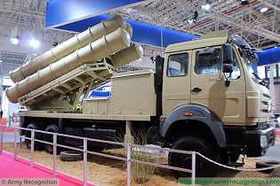 Sky Dragon 50 GAS2 medium-range surface-to-air defense missile technical data sheet specifications pictures information description intelligence photos images video identification China Chinese army industry military technology equipment