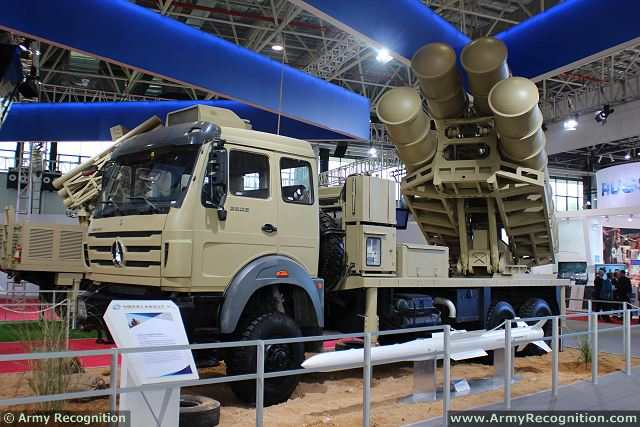 According the Chinese military magazine Kanwa, the Chinese Defense Company NORINCO has exported its new medium-range surface-to-air defense missile system to Rwanda. This country is the first foreign customer for the Sky Dragon 50.